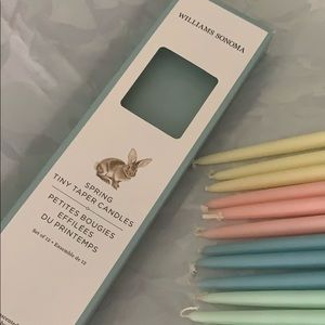 Williams Sonoma Spring Tiny Taper Candles